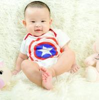 Baby Superhero Themed